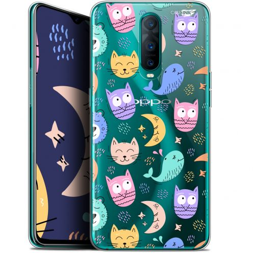 "Extra Slim Gel Oppo RX17 Pro (6.4"") Case Design Chat Hibou"