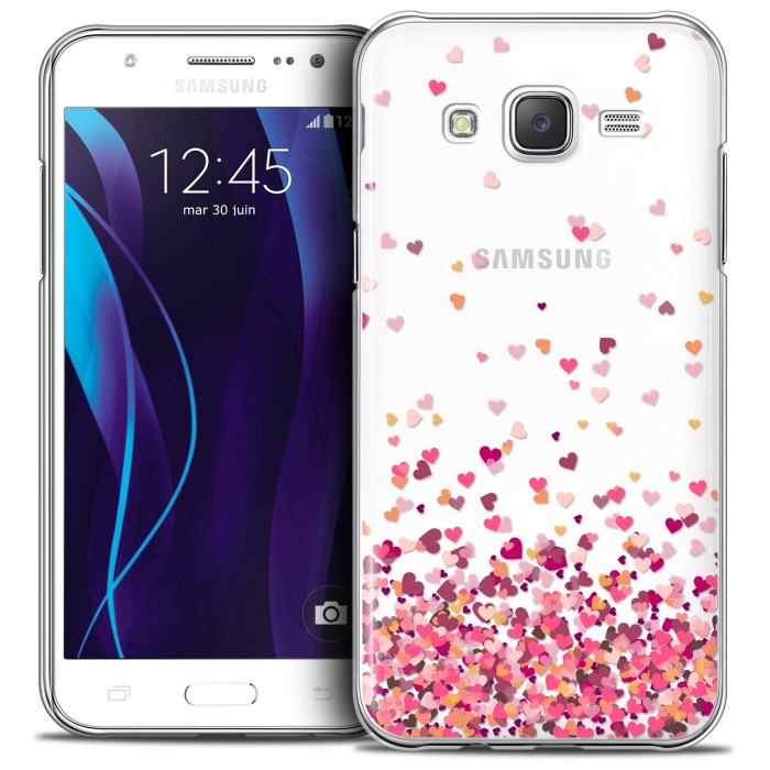 check out b22ba d34b5 Extra Slim Crystal Galaxy J7 (J700) Case Sweetie Heart Flakes
