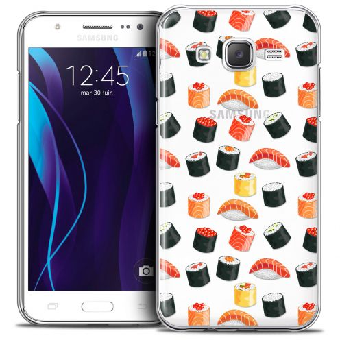 Extra Slim Crystal Galaxy J5 (J500) Case Foodie Sushi