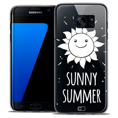 Extra Slim Crystal Galaxy S7 Edge Case Summer Sunny Summer