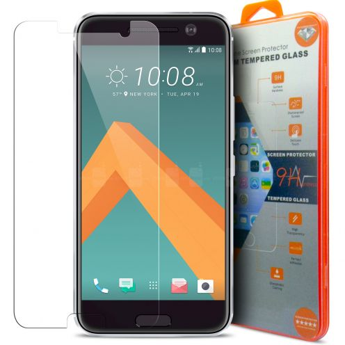 Glass Pro+ Ultra HD 9H 0.33 mm Tempered Glass Screen Protector for HTC One 10