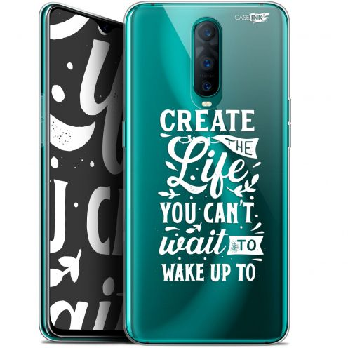 """Extra Slim Gel Oppo RX17 Pro (6.4"""") Case Design Wake Up Your Life"""