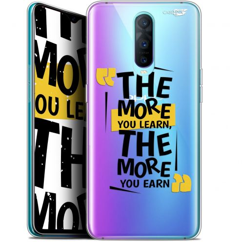 """Extra Slim Gel Oppo RX17 Pro (6.4"""") Case Design The More You Learn"""