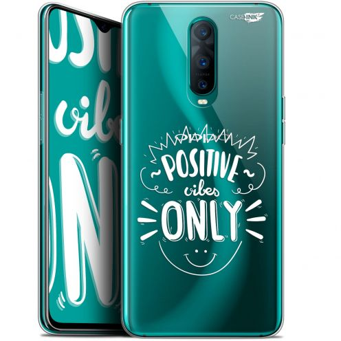 """Extra Slim Gel Oppo RX17 Pro (6.4"""") Case Design Positive Vibes Only"""