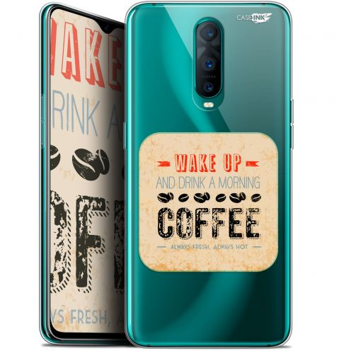 """Extra Slim Gel Oppo RX17 Pro (6.4"""") Case Design Wake Up With Coffee"""