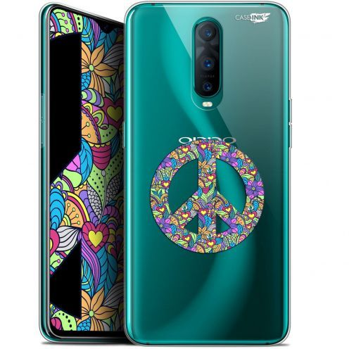 """Extra Slim Gel Oppo RX17 Pro (6.4"""") Case Design Peace And Love"""