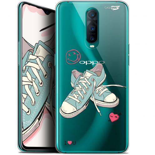 """Extra Slim Gel Oppo RX17 Pro (6.4"""") Case Design Mes Sneakers d'Amour"""
