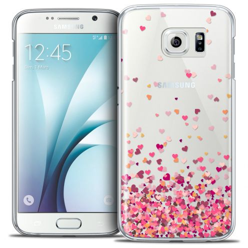 Extra Slim Crystal Galaxy S6 Case Sweetie Heart Flakes