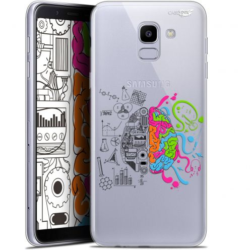 "Extra Slim Gel Samsung Galaxy J6 2018 J600 (5.6"") Case Design Le Cerveau"