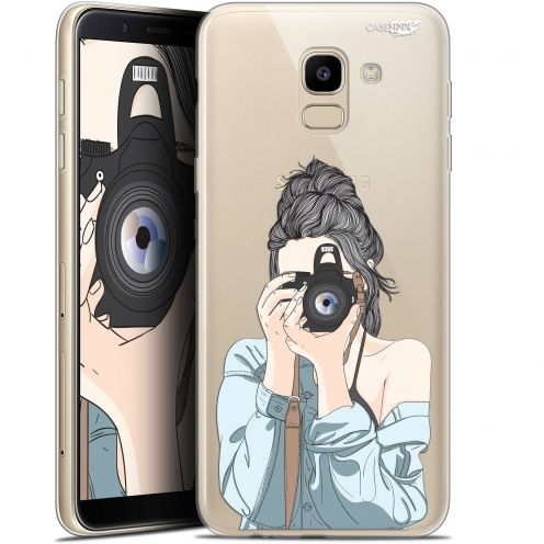 "Extra Slim Gel Samsung Galaxy J6 2018 J600 (5.6"") Case Design La Photographe"