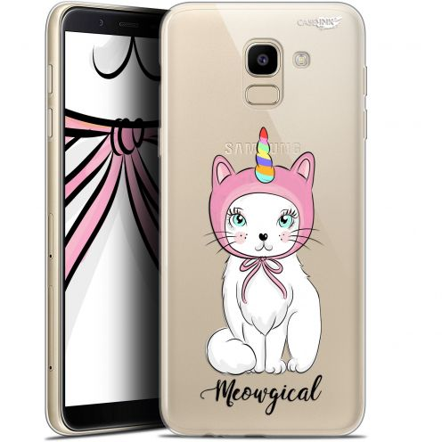 "Extra Slim Gel Samsung Galaxy J6 2018 J600 (5.6"") Case Design Ce Chat Est MEOUgical"