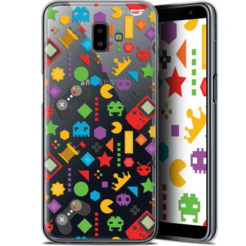 "Extra Slim Gel Samsung Galaxy J6 Plus J6+ (6.4"") Case Design PacMan"