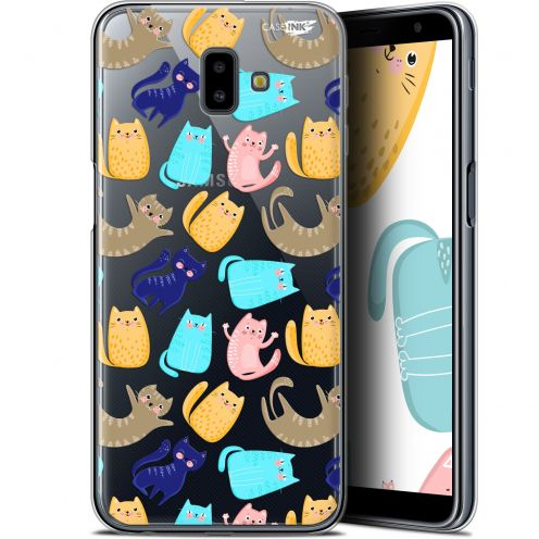 "Extra Slim Gel Samsung Galaxy J6 Plus J6+ (6.4"") Case Design Chat Danse"