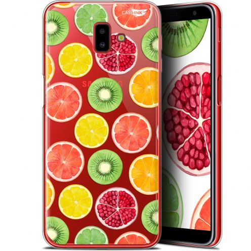 "Extra Slim Gel Samsung Galaxy J6 Plus J6+ (6.4"") Case Design Fruity Fresh"