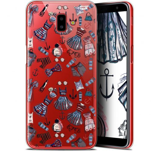 "Extra Slim Gel Samsung Galaxy J6 Plus J6+ (6.4"") Case Design Fashionista"