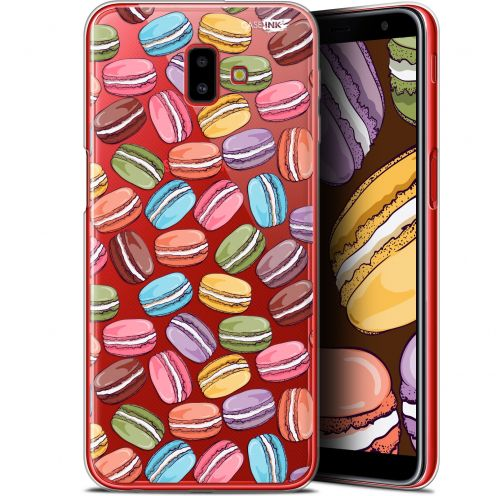 "Extra Slim Gel Samsung Galaxy J6 Plus J6+ (6.4"") Case Design Macarons"