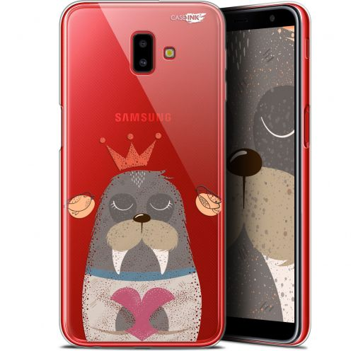 "Extra Slim Gel Samsung Galaxy J6 Plus J6+ (6.4"") Case Design Sketchy Walrus"