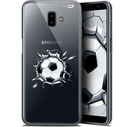 "Extra Slim Gel Samsung Galaxy J6 Plus J6+ (6.4"") Case Design Le Balon de Foot"