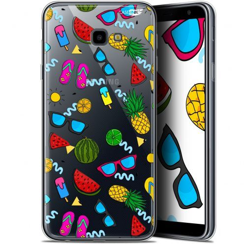 "Extra Slim Gel Samsung Galaxy J4 Plus J4+ (6"") Case Design Summers"