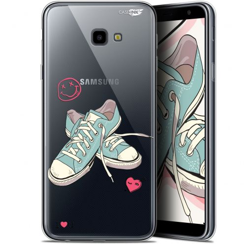 "Extra Slim Gel Samsung Galaxy J4 Plus J4+ (6"") Case Design Mes Sneakers d'Amour"
