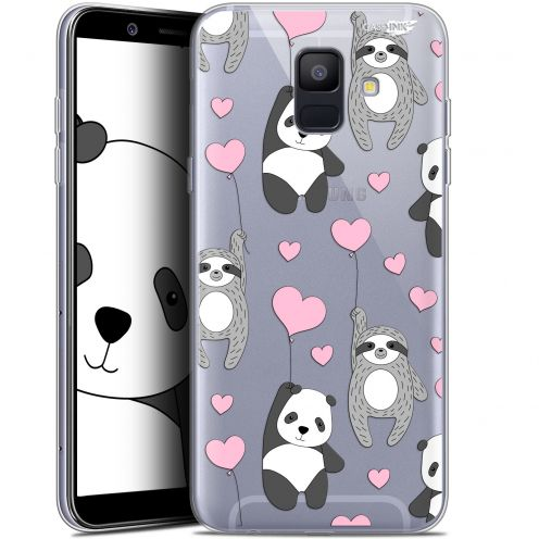 "Extra Slim Gel Samsung Galaxy A6 2018 (5.45"") Case Design Panda'mour"
