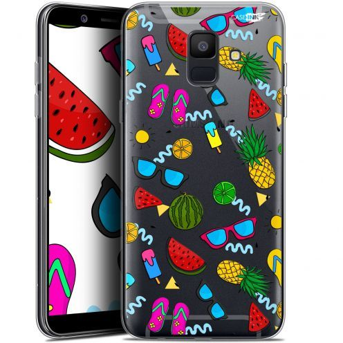 "Extra Slim Gel Samsung Galaxy A6 2018 (5.45"") Case Design Summers"