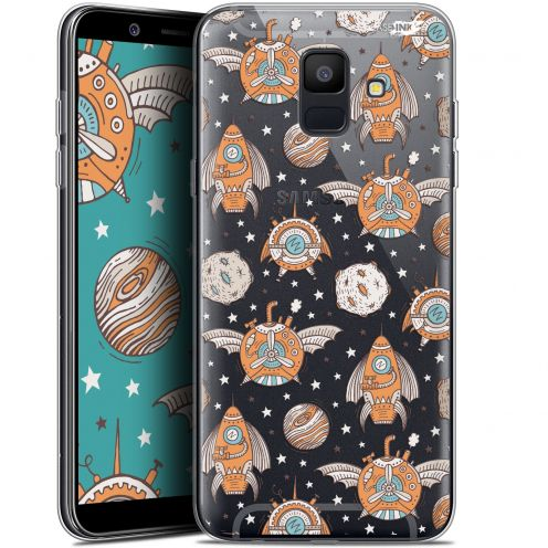 "Extra Slim Gel Samsung Galaxy A6 2018 (5.45"") Case Design Punk Space"
