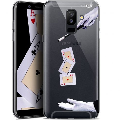 "Extra Slim Gel Samsung Galaxy A6 PLUS 2018 (6"") Case Design Cartes Magiques"