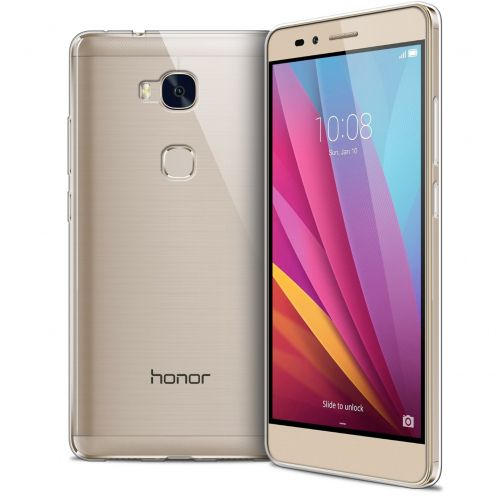 Extra Slim 1mm Crystal Clear View Flexible Case Huawei Honor 5X