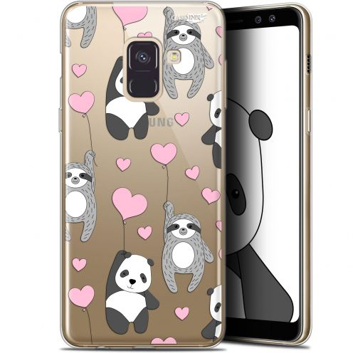"Extra Slim Gel Samsung Galaxy A8+ (2018) A730 (6"") Case Design Panda'mour"