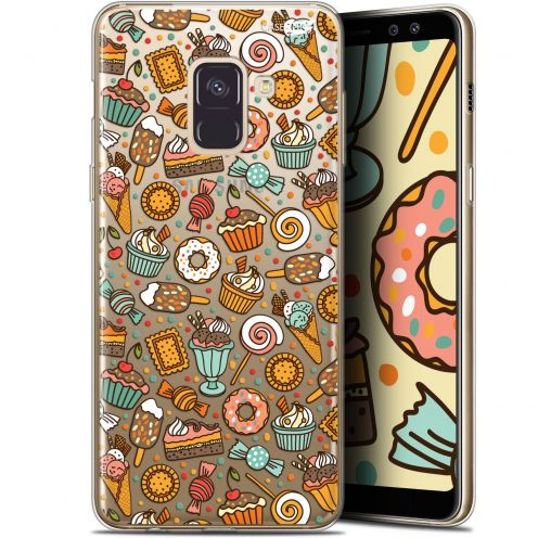 "Extra Slim Gel Samsung Galaxy A8+ (2018) A730 (6"") Case Design Bonbons"