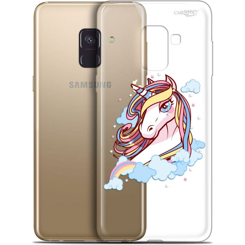 "Extra Slim Gel Samsung Galaxy A8+ (2018) A730 (6"") Case Design Lalicorne"