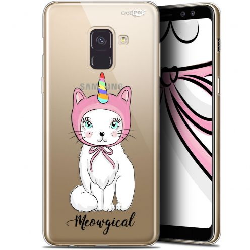"Extra Slim Gel Samsung Galaxy A8+ (2018) A730 (6"") Case Design Ce Chat Est MEOUgical"