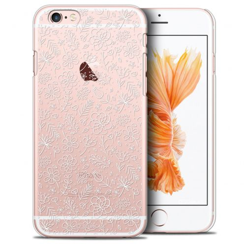 Extra Slim Crystal iPhone 6/6s Case Summer Florale Blanche