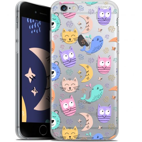 "Extra Slim Gel Apple iPhone 6/6s (4.7"") Case Design Chat Hibou"