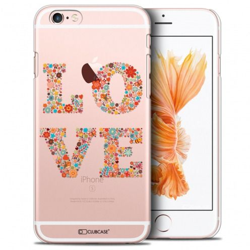 Extra Slim Crystal iPhone 6/6s Case Summer Love Flowers