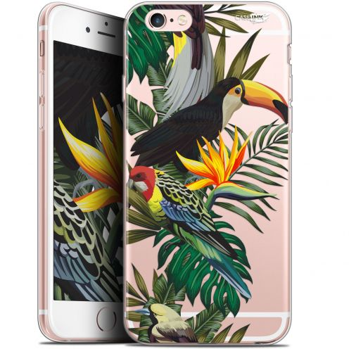 "Extra Slim Gel Apple iPhone 6/6s (4.7"") Case Design Toucan Tropical"