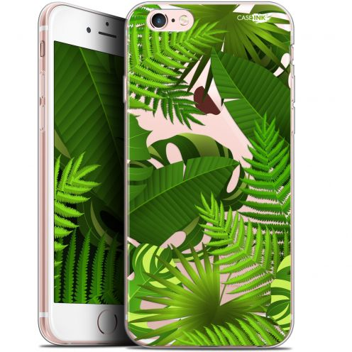 "Extra Slim Gel Apple iPhone 6/6s (4.7"") Case Design Plantes des Tropiques"