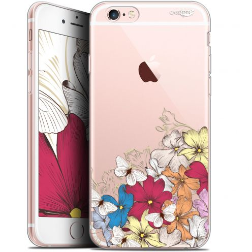 "Extra Slim Gel Apple iPhone 6/6s (4.7"") Case Design Nuage Floral"