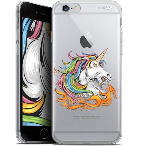 "Extra Slim Gel Apple iPhone 6/6s (4.7"") Case Design Licorne de Feu"