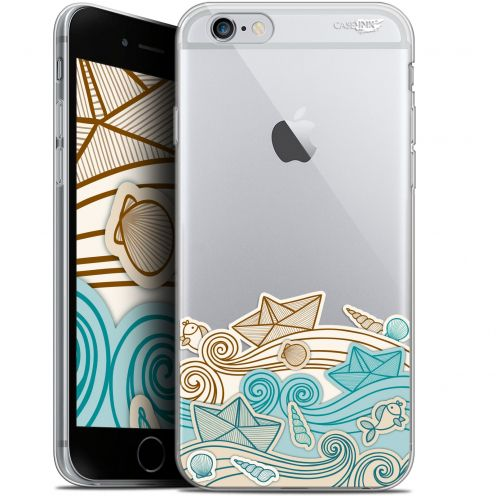"Extra Slim Gel Apple iPhone 6/6s (4.7"") Case Design Bateau de Papier"