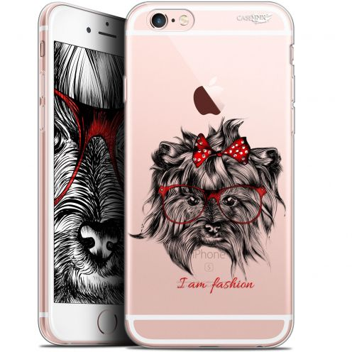 "Extra Slim Gel Apple iPhone 6/6s (4.7"") Case Design Fashion Dog"