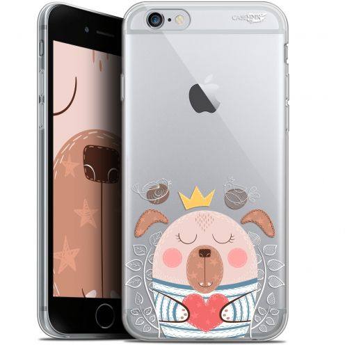 "Extra Slim Gel Apple iPhone 6/6s (4.7"") Case Design Sketchy Dog"