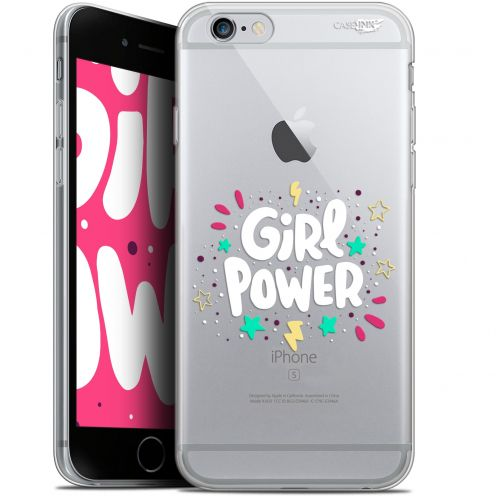 "Extra Slim Gel Apple iPhone 6/6s (4.7"") Case Design Girl Power"