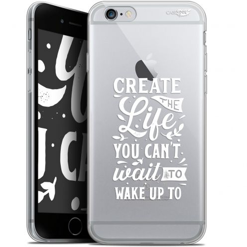 """Extra Slim Gel Apple iPhone 6/6s (4.7"""") Case Design Wake Up Your Life"""