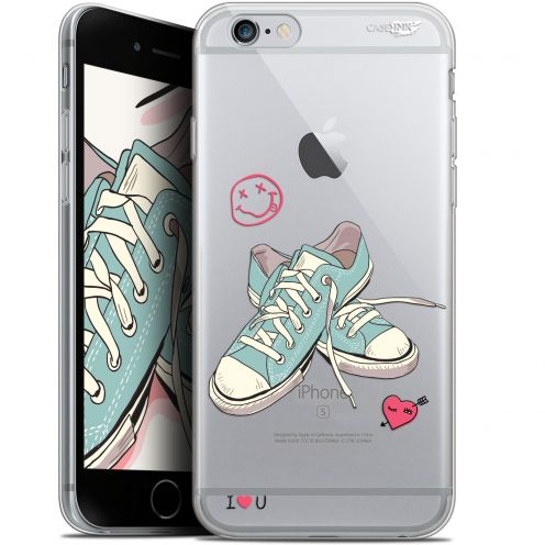 """Extra Slim Gel Apple iPhone 6/6s (4.7"""") Case Design Mes Sneakers d'Amour"""