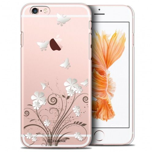 Extra Slim Crystal iPhone 6/6s Case Summer Papillons