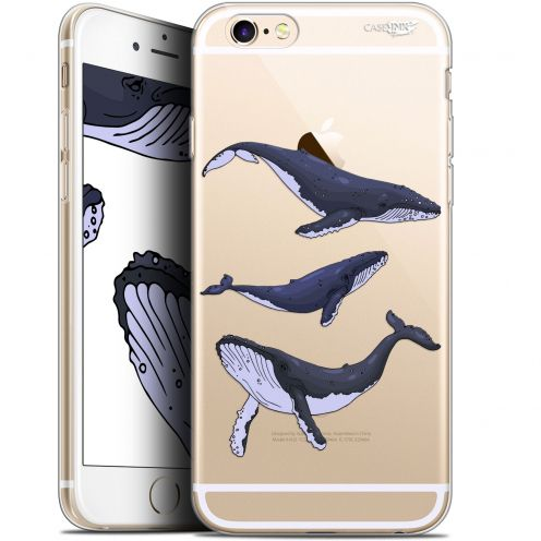 "Extra Slim Gel Apple iPhone 6 Plus/ iPhone 6s Plus (5.5"") Case Design Les 3 Baleines"
