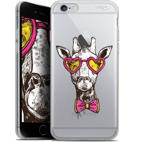 "Extra Slim Gel Apple iPhone 6 Plus/ iPhone 6s Plus (5.5"") Case Design Hipster Giraffe"