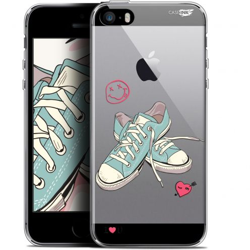 """Extra Slim Gel Apple iPhone 5/5s/SE (4"""") Case Design Mes Sneakers d'Amour"""